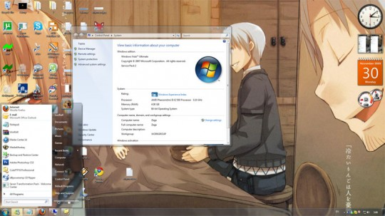 Download Windows 7 Transformation Pack for Windows XP and Vista