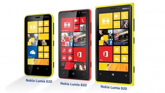 Nokia Lumia Windows Phone 8 Range
